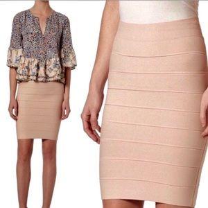 Pale Pink BCBG Power Pencil Skirt